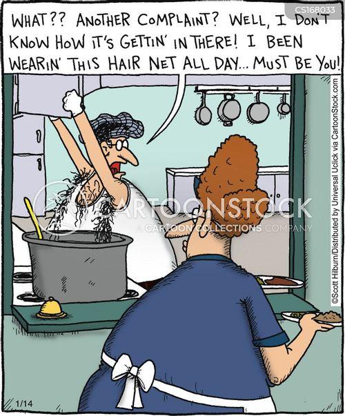Cartoon Images Food Hygiene Ppe