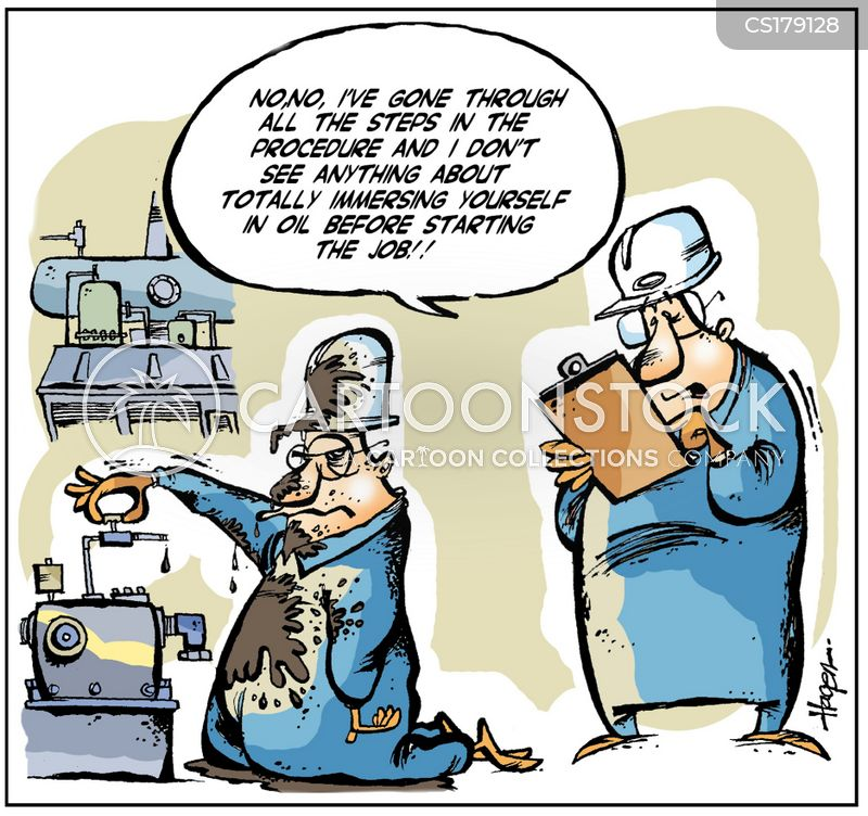 Health And Safety Procedure Cartoons And Comics Funny