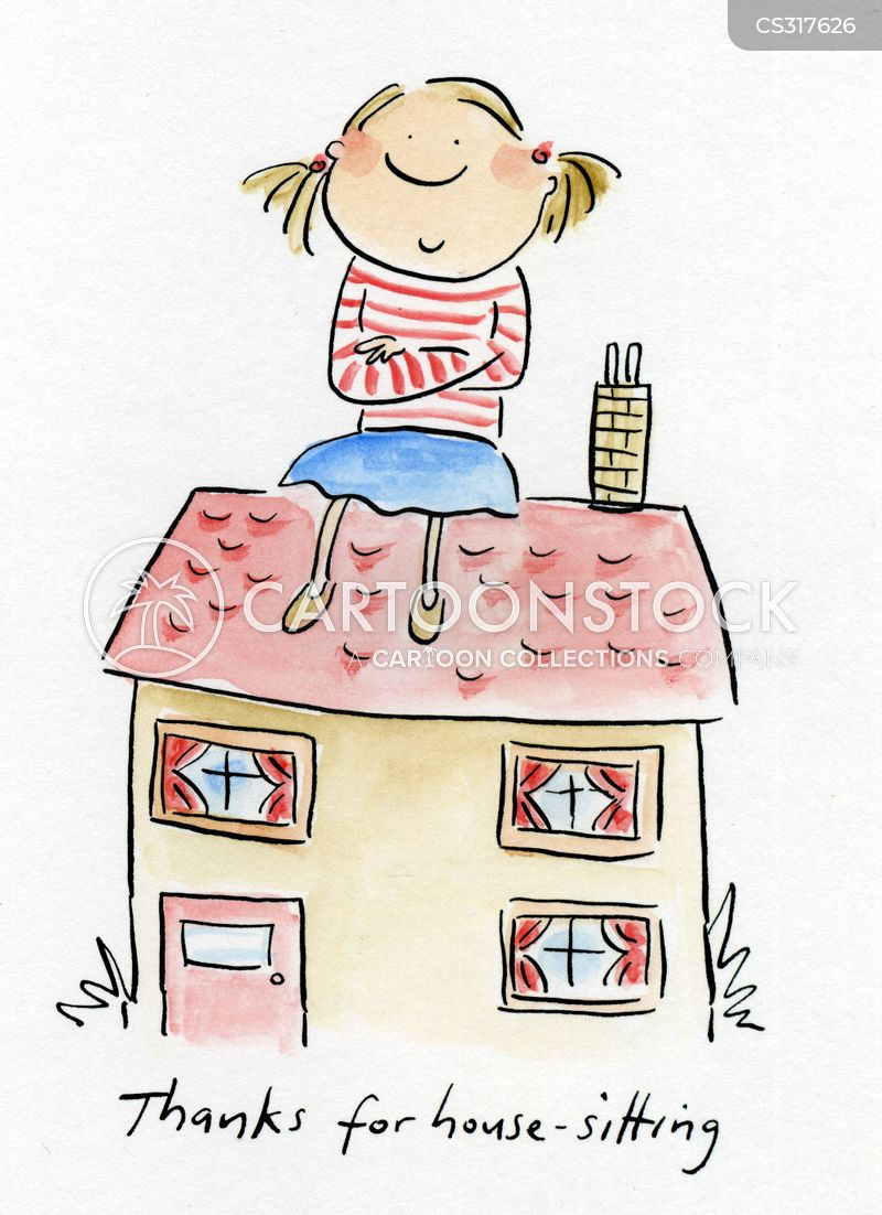 House sitting cartoons and comics funny pictures from for House siting