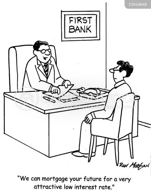 interest rates cartoons and comics