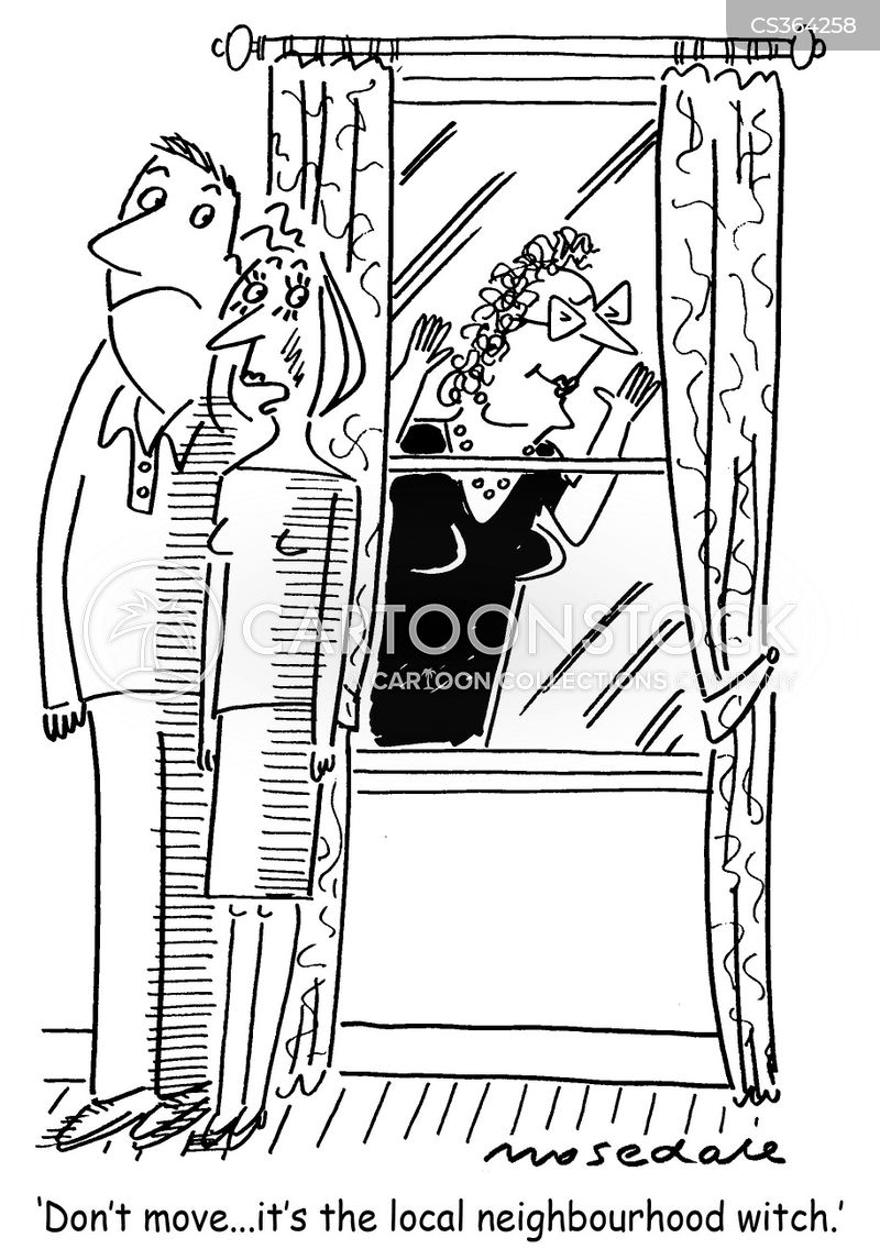 Nosy Neighbors Cartoons And Comics Funny Pictures From