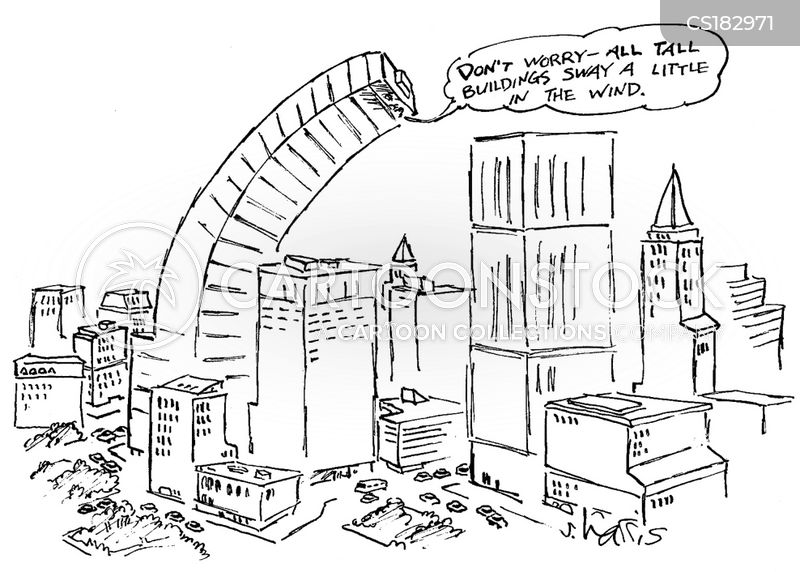 Tall Building Cartoons And Comics Funny Pictures From