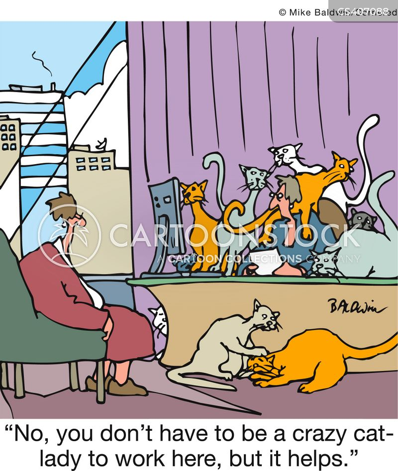 Cat Ladies Cartoons And Comics Funny Pictures From