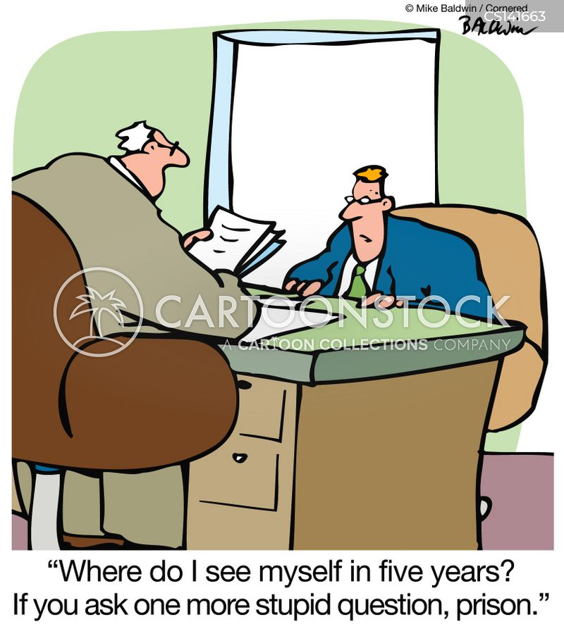 Interview Questions Cartoons and Comics - funny pictures ... Question Cartoon Funny