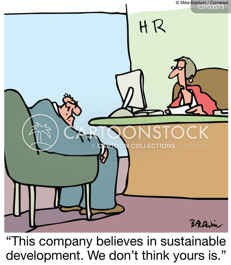 Sustainable Development Cartoons And Comics Funny