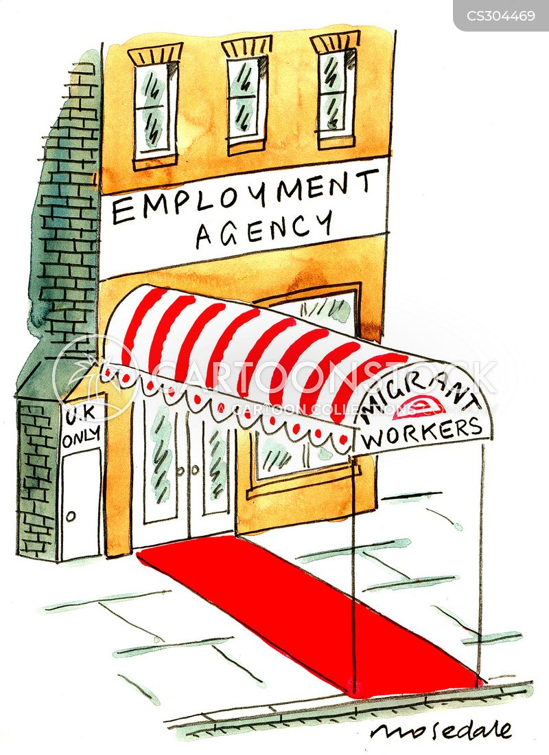 employment agency cartoons and comics funny pictures from cartoonstock