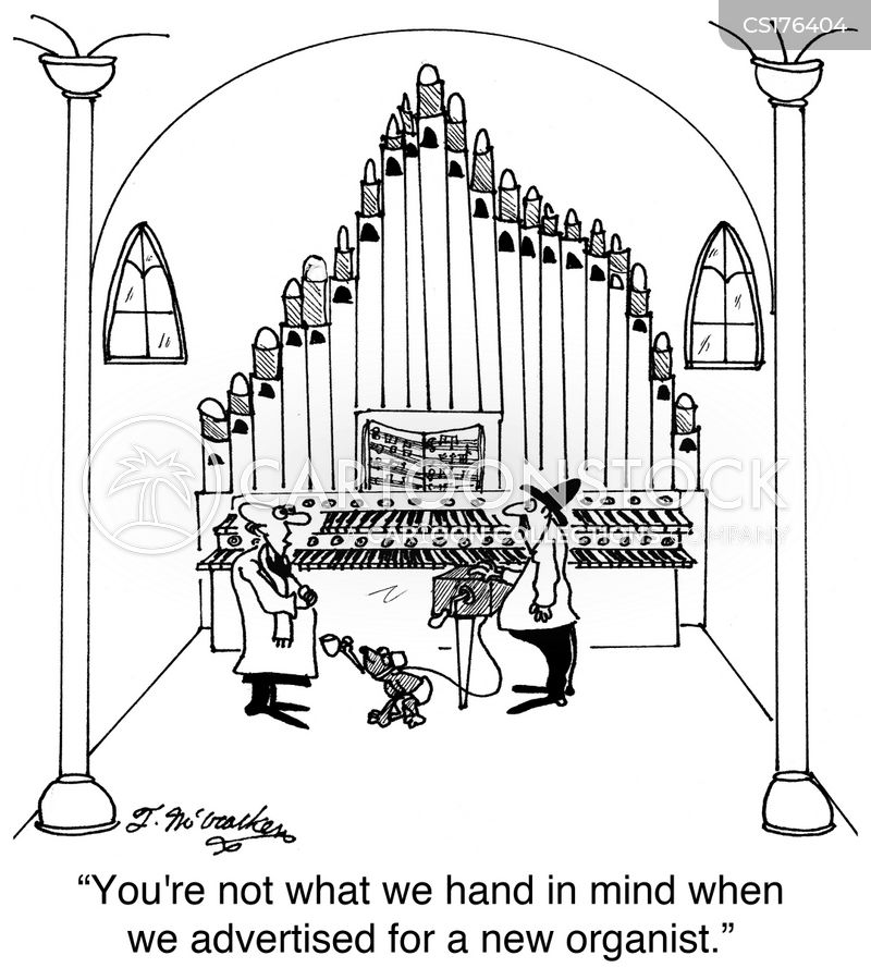 Orgel Cartoon, Orgel Cartoons, Orgel Bild, Orgel Bilder, Orgel Karikatur, Orgel Karikaturen, Orgel Illustration, Orgel Illustrationen, Orgel Witzzeichnung, Orgel Witzzeichnungen
