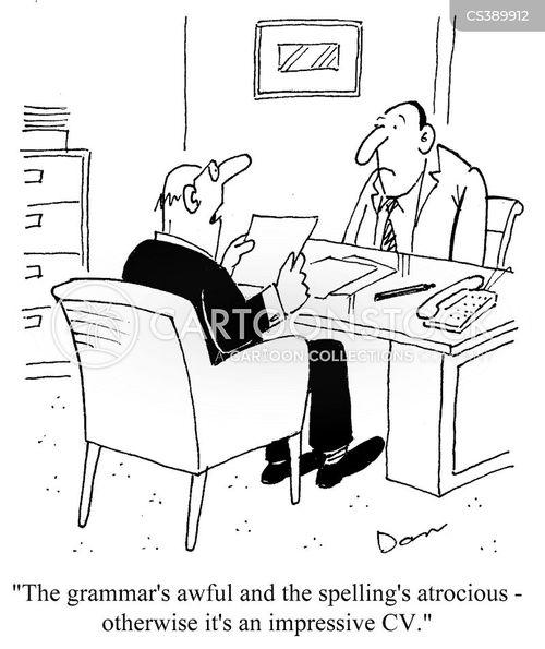 grammatical error cartoons and comics