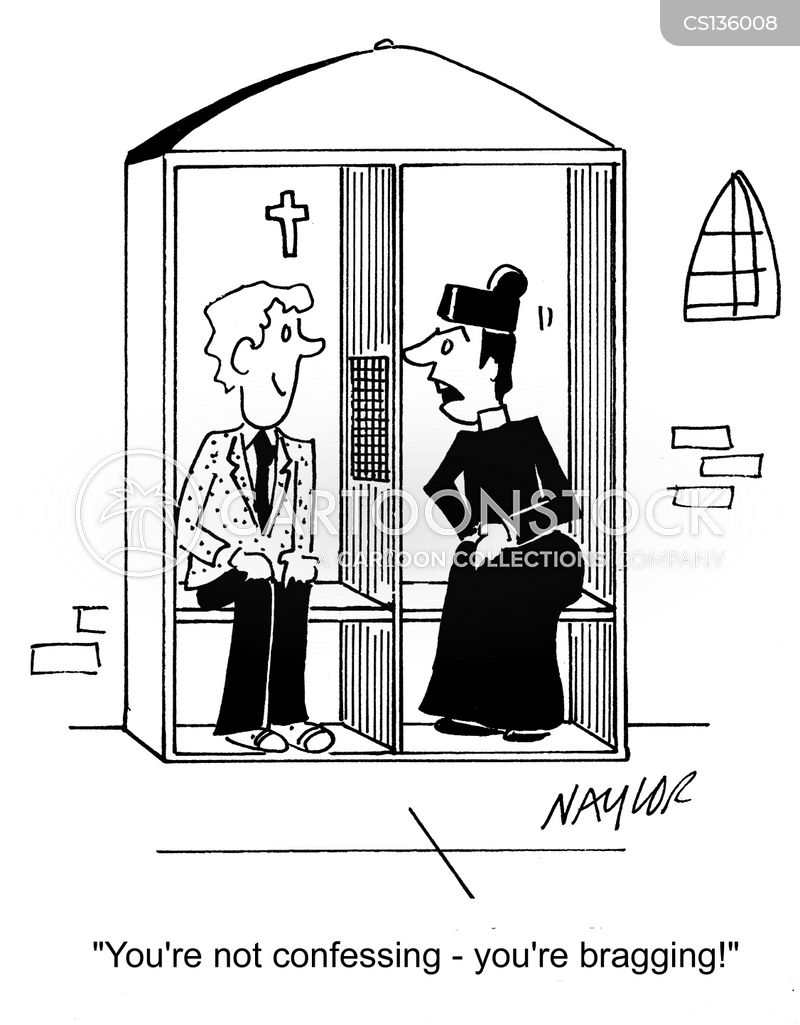 Booths cartoons, Confession Booths cartoon, funny, Confession Booths ...