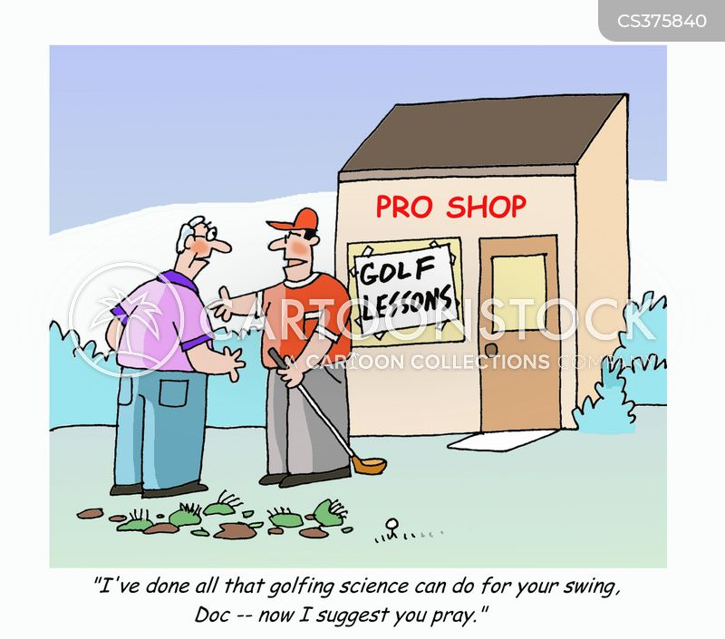 Golf Lesson Cartoons and Comics - funny pictures from ...