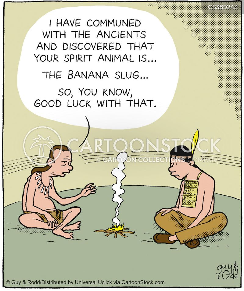 Spirit Animal Cartoons And Comics Funny Pictures From