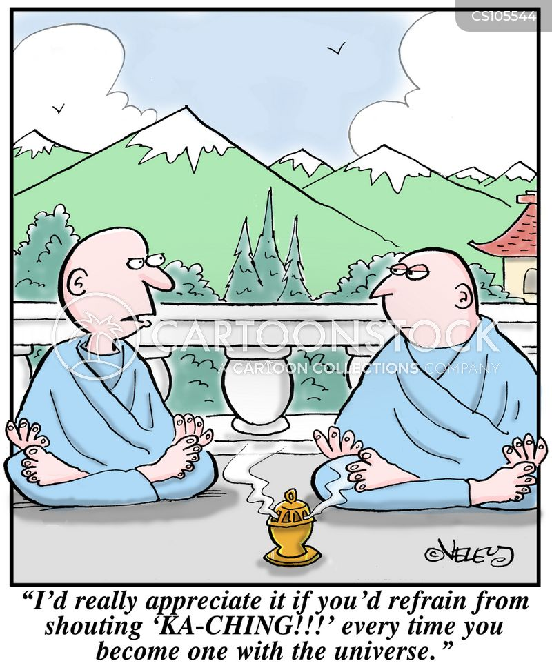 Meditate Cartoons And Comics Funny Pictures From