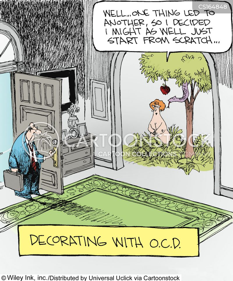 Obsessive Compulsive Disorder Cartoons And Comics Funny