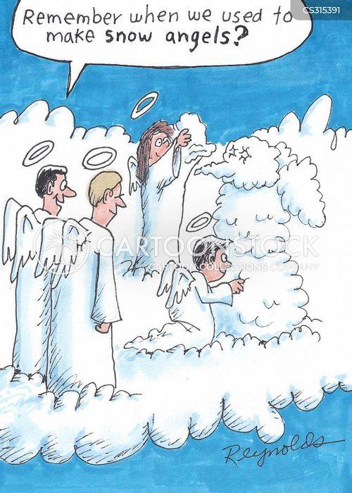 snow angel wallpaper cartoon - photo #10