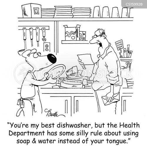 Restaurant Inspectors Cartoons And Comics