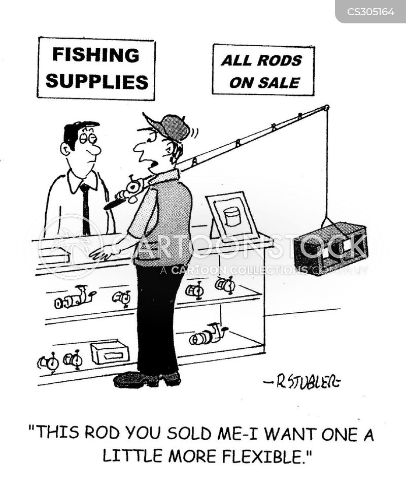 Faulty equipment cartoons and comics funny pictures from for Fishing supply store