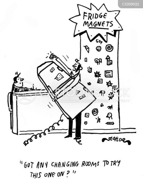 Fridge Magnets Cartoons Cartoon Funny