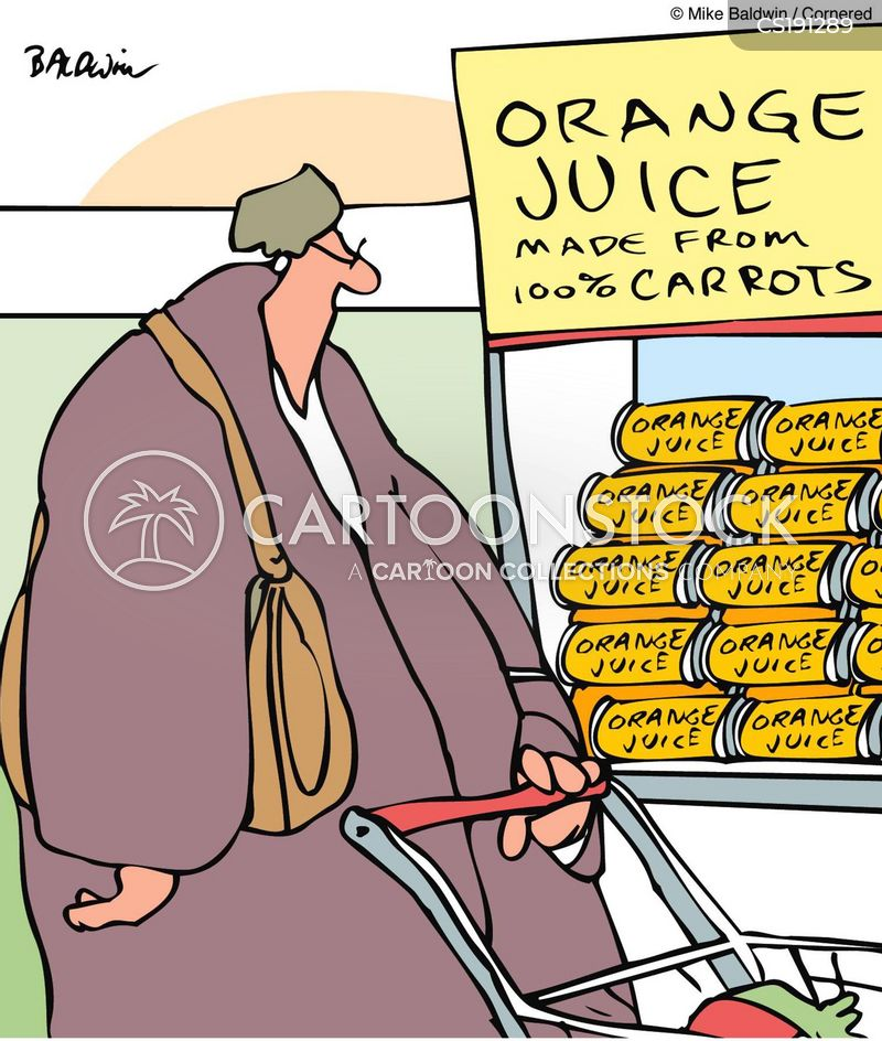 Orange Juice Cartoons and Comics - funny pictures from CartoonStock