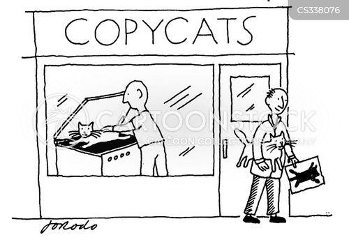 xerox cartoons and comics