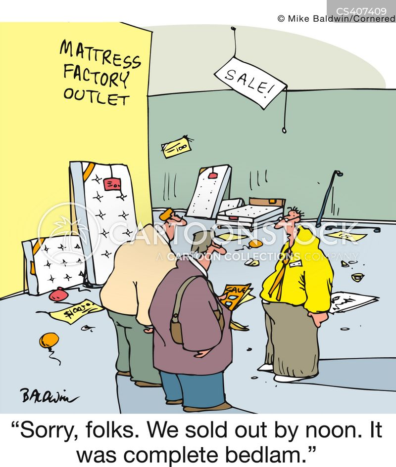 Mattress Shop Cartoons and Comics - funny pictures from ...