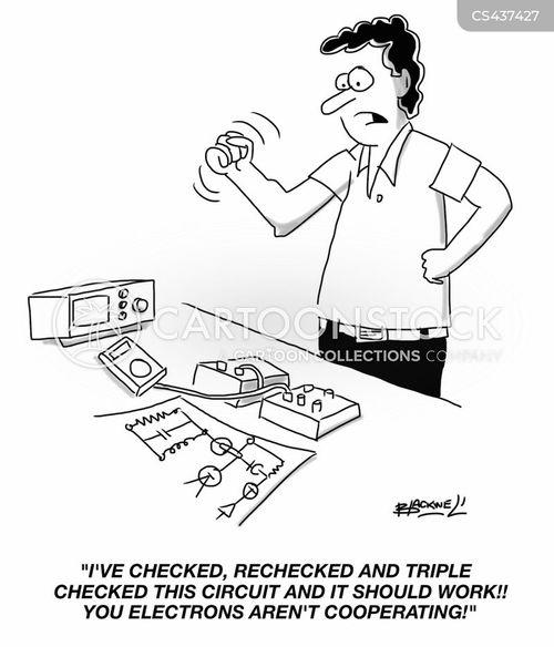 circuits cartoons and comics