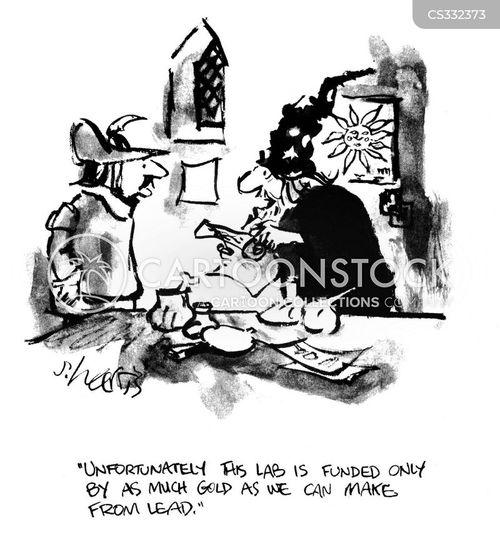 alchemist laboratory images cartoon