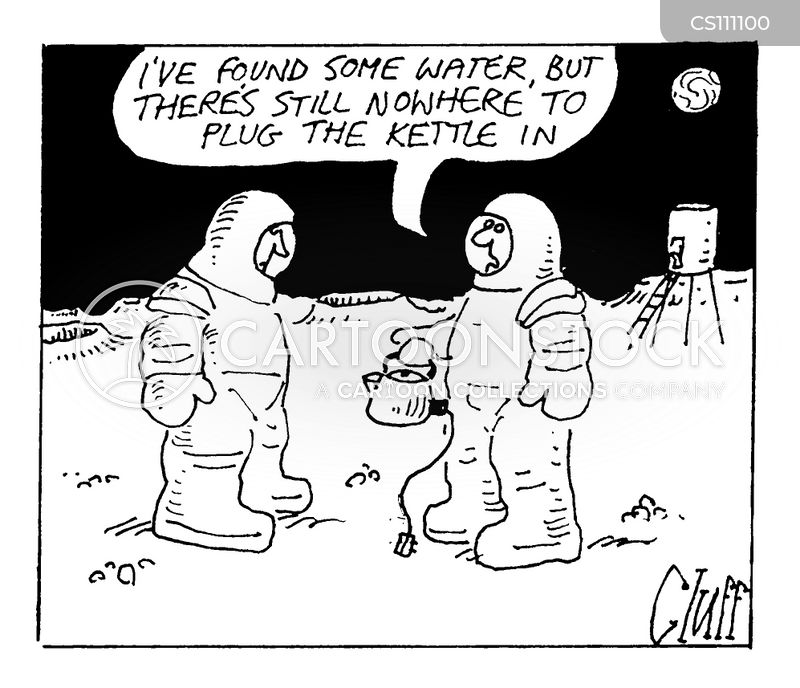 Life On Mars Cartoons and Comics - funny pictures from ...