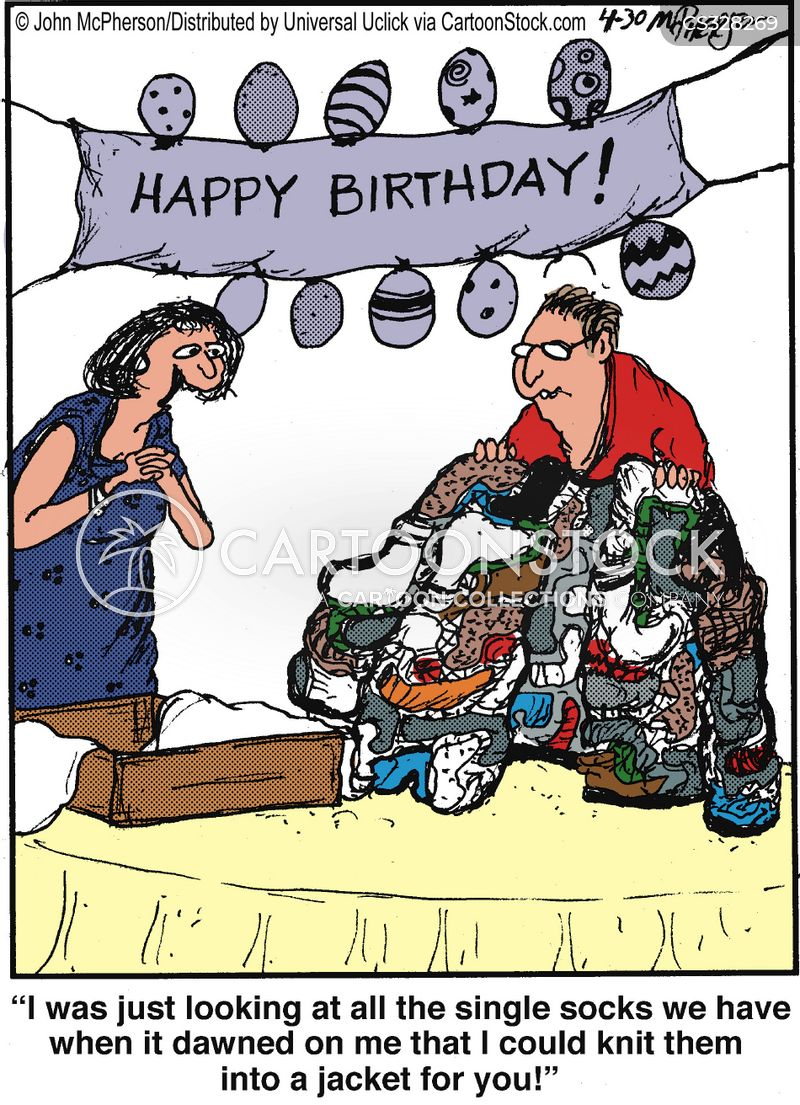 Knitting Birthday Meme : Odd sock cartoons and comics funny pictures from