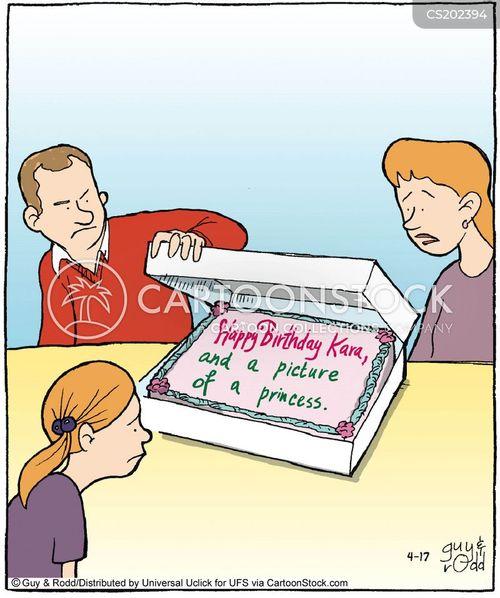 Cake Decoration Cartoons And Comics