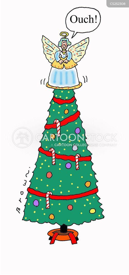 christmas tree decoration cartoon - photo #27