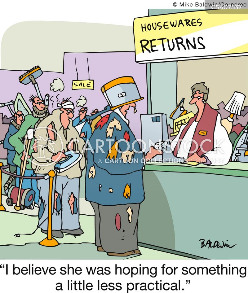 Returns Policy Cartoons And Comics Funny Pictures From