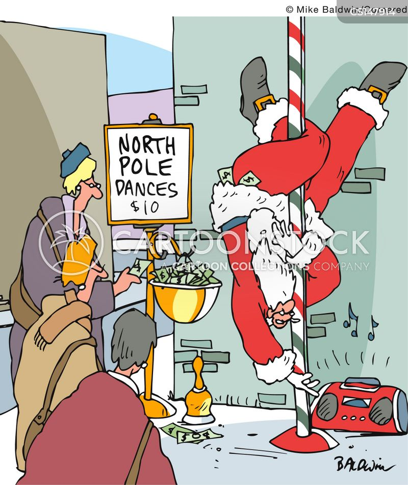Pole dancing cartoons and comics funny pictures from cartoonstock