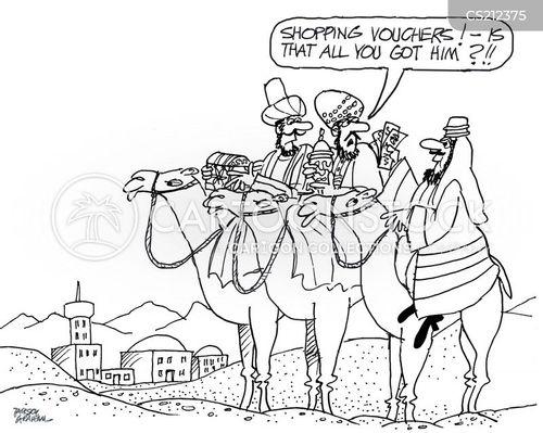 The Nativity Cartoons and Comics