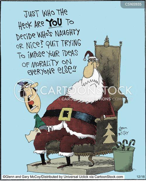 Naughty Or Nice Kid Quotes Christmas