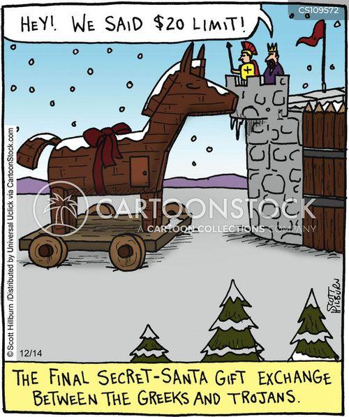 Trojan War cartoons, Trojan War cartoon, funny, Trojan War picture ...