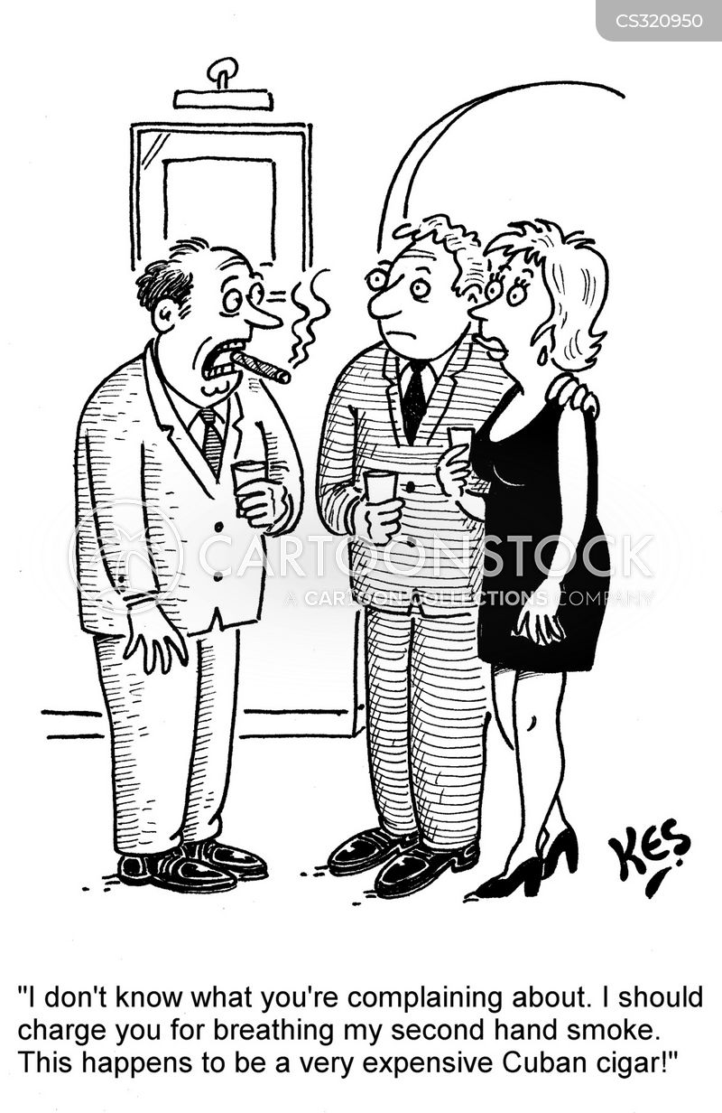 Cigar Smoking Cartoons And Comics Funny Pictures From
