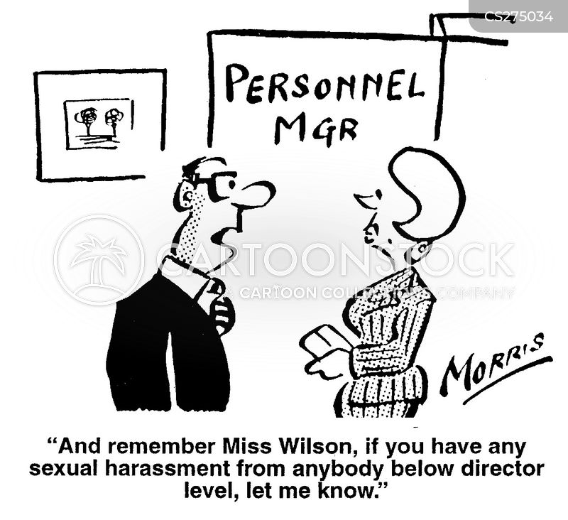 Sexual Harassment And Discrimination Comic Far Side