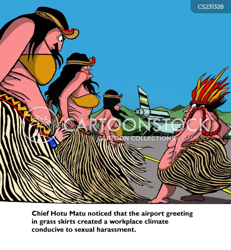Grass Skirt Cartoons and Comics - funny pictures from ...