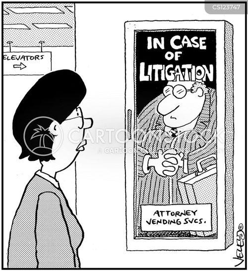 Policy And Procedure Cartoons Legal Procedures Cartoon 6 of