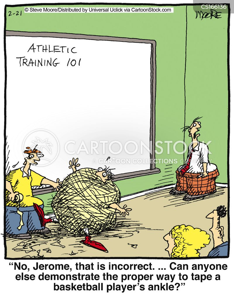 Athletic Training Cartoons and Comics - funny pictures ...