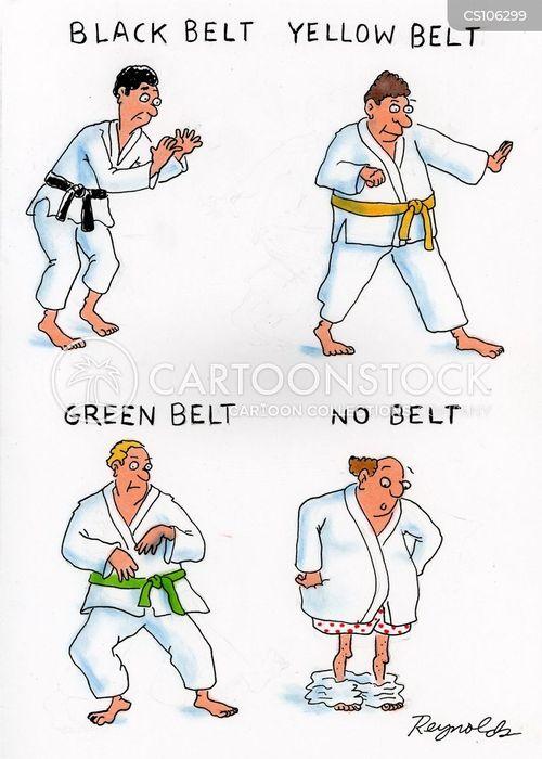 Karate cartoons  Karate cartoon  funny  Karate picture  Karate    Black Karate Cartoon