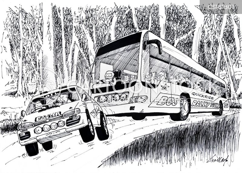Bus Cartoon, Bus Cartoons, Bus Bild, Bus Bilder, Bus Karikatur, Bus Karikaturen, Bus Illustration, Bus Illustrationen, Bus Witzzeichnung, Bus Witzzeichnungen