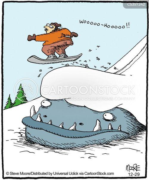 Cartoon Sports Cars Downhill
