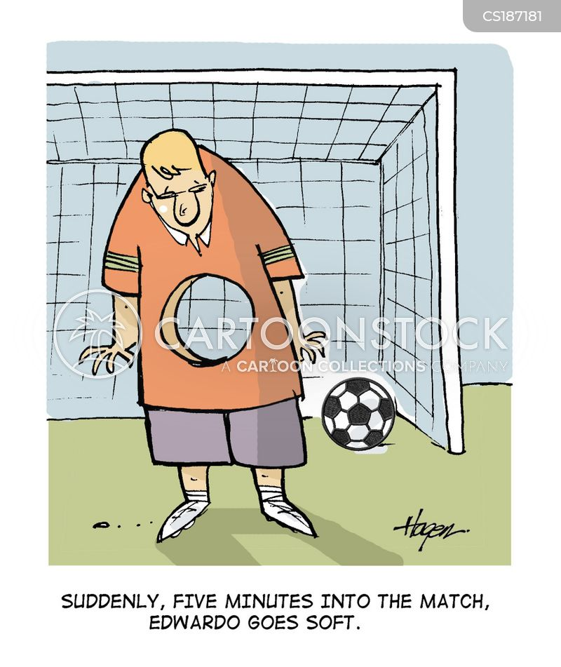 goalie cartoons and comics funny pictures from cartoonstock