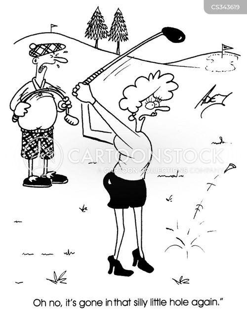 ladies golf clip art