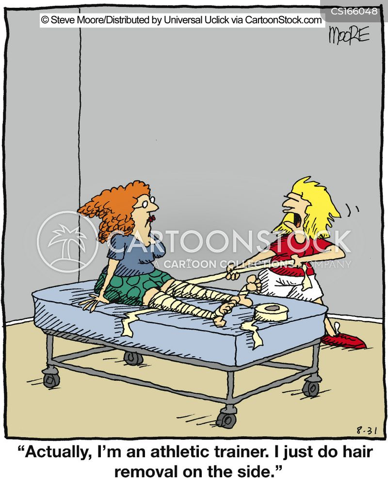 Hair Removal Cartoons And Comics Funny Pictures From