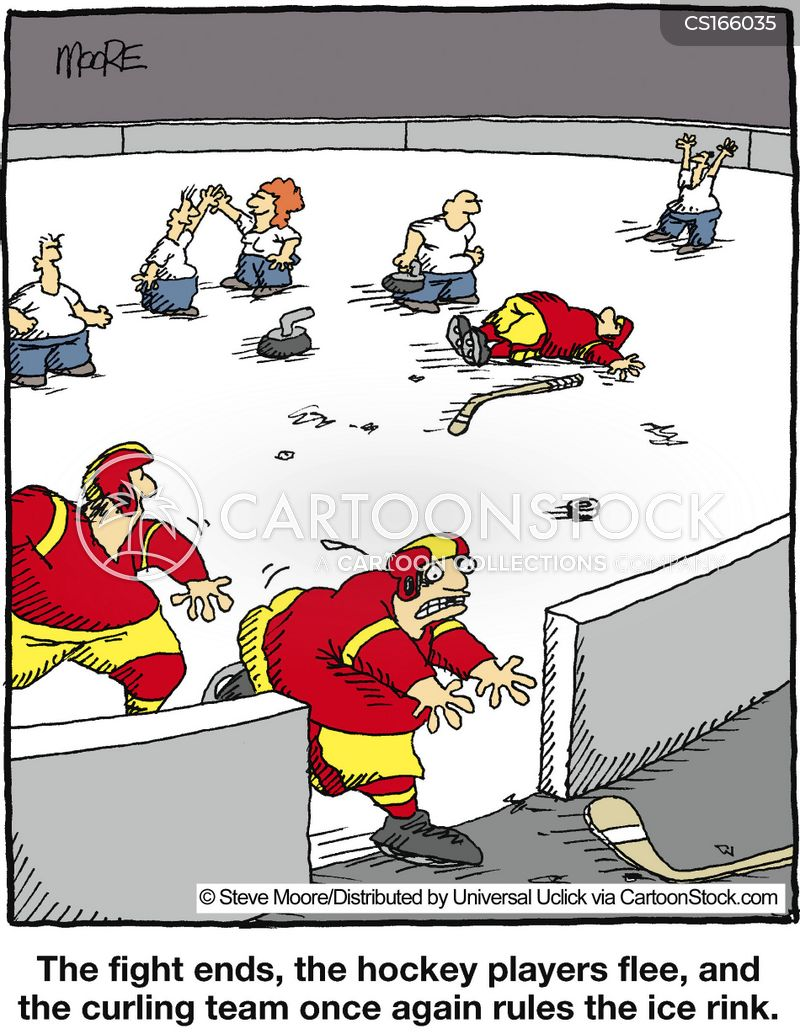 hockey cartoons and comics funny pictures from cartoonstock