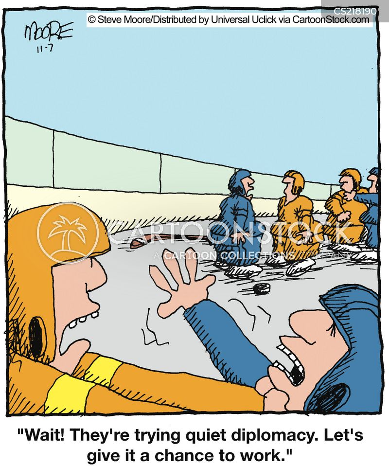 funny hockey pictures cartoons