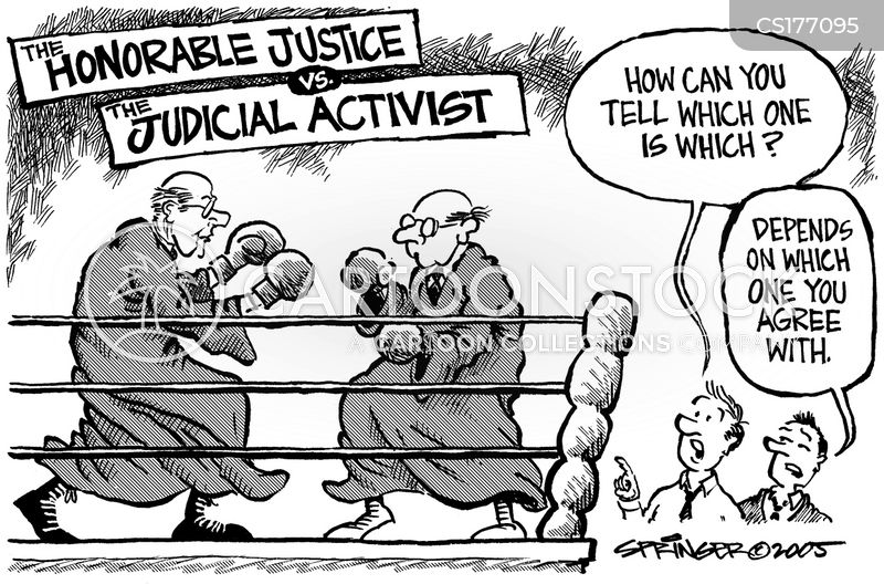 an analysis of the restraint and activism in the supreme court The supreme court has long struggled with when to exercise activism and restraint, as in its 5-4 same-sex marriage ruling.