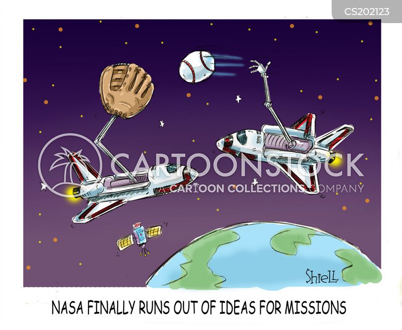 Space Missions Cartoons and Comics - funny pictures from ...